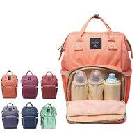 Fashion Mummy Maternity Nappy Bag Brand Large Capacity Baby Bag Travel Backpack Designer Nursing Diaper Bag