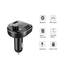Auto accessories car fm modulator smart mp3 player Bluetooth hands-free transmitter dual charging USB interface charger