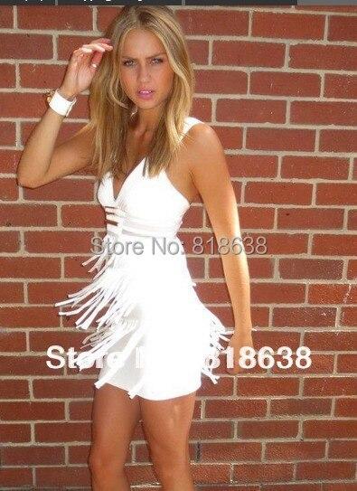 Popular White Fringe Dresses-Buy Cheap White Fringe Dresses lots ...