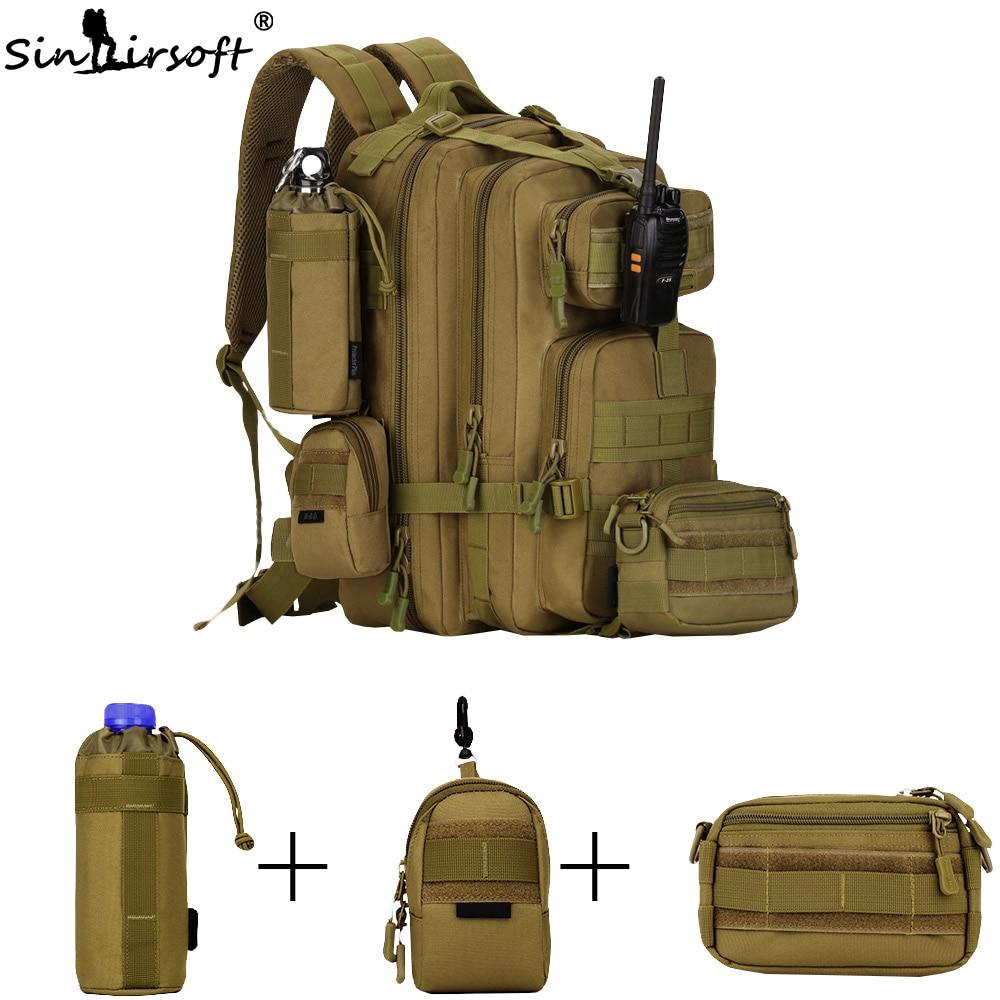 SINAIRSOFT 30L 40L 3P охотничий рыболовный Змеиный тактический рюкзак военный походный рюкзак спортивные туристические рюкзаки S410/S411 - 4