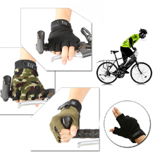 Mens Outdoor Handschuhe Running Hiking gloves Fingerless Fitness Cycling Gloves guante airsoft Bicycle 2 Colors