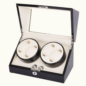 Superior Quality Ultra-quiet Motor Watch Winder for 4 Watches