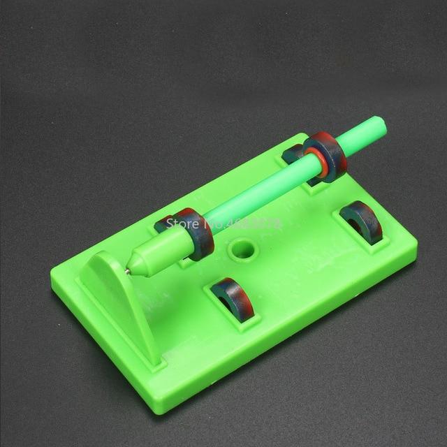 Maglev expérience matériel de démonstration bricolage puzzle amusant aimant jouet aides pédagogiques pour les élèves du primaire et du secondaire