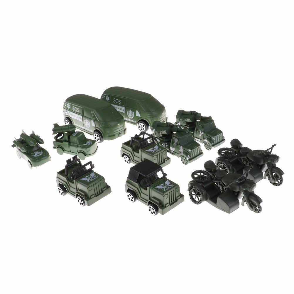 Military Car Lot >> 2pcs Lot Muti Style Jeep Off Road Vehicle Children Kids Birthday Gifts Mini Military Car Toys Model Military Car Model