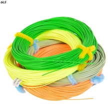 Maximumcatch Multi Colors 100FT 2/3/4/5/6/7/8/wt Fly Fishing Line Weight Forward Fishing Line