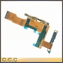 Original new for Sony Xperia S LT26 LT26i main Lcd display board volume control side buttons camera microphone flex cable