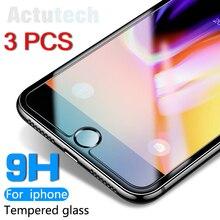 Vetro temperato per iphone 7 plus 4 4s 5 5s 5se 6 6s plus 8 Plus di vetro iphone 7 8 plus max x schermo di vetro Protezione
