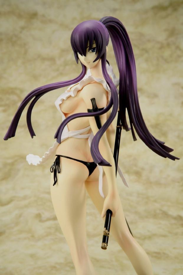 22cm HIGHSCHOOL OF THE DEAD Busujima Saeko sexy Anime Action Figure PVC New Collection figures toys Collection Christmas gift 1