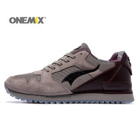 Onemix Men S Winter Warm Outdoors Sneakers Women Running Walking Breathable Shoes Deodorizing Insole For Couple