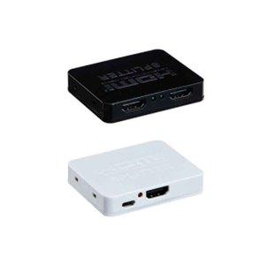 Image 1 - ミニ HDMI スプリッタ 1 × 2 V1.4 4 4kx2k 2 アクセス複数 HDMI 受信機に分割 2 つの hdmi 互換ディスプレイ