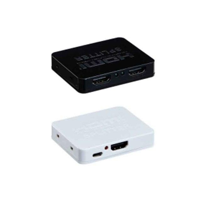 Mini HDMI Splitter 1x2 V1.4 4 K x 2 K Access mehrere HDMI empfänger split in zwei HDMI kompatibel displays