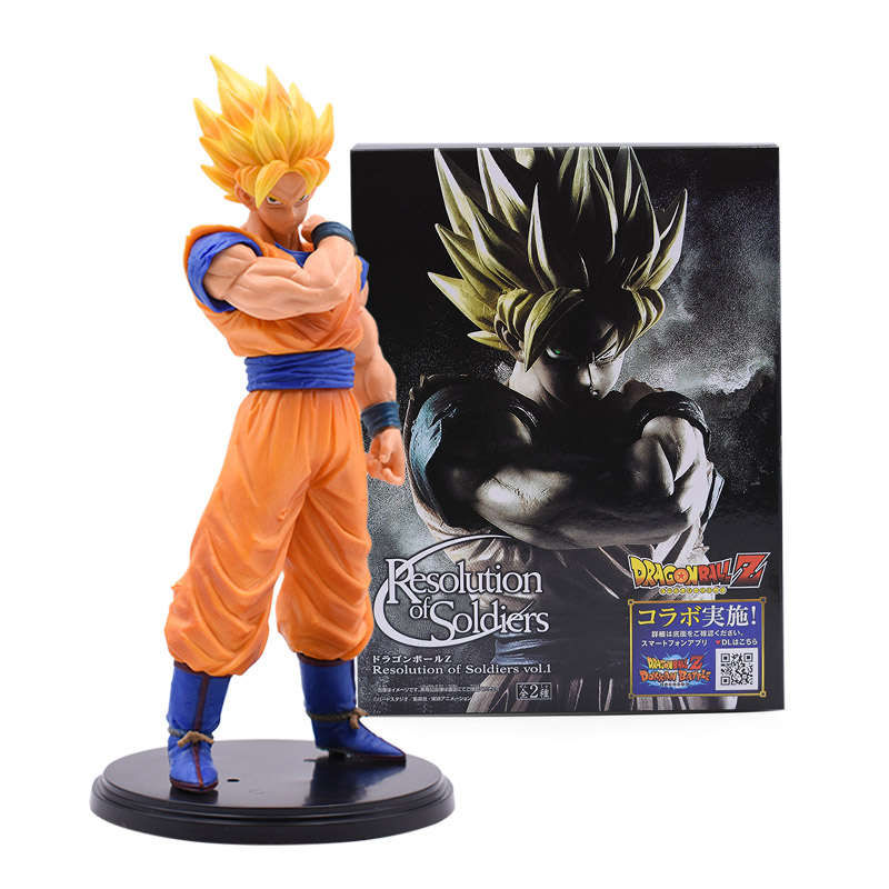Anime Figure Jouets Dragon Ball Z Super Saiyan Burdock Figurine Statues 20cm