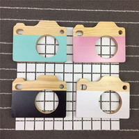 Nordic Style Wooden Camera Photo Props Ornament Best Gifts For Kids Room Decorations Wall Wedding Decor Crafts