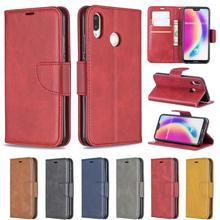 HUANGTAOLI PU Leather Flip Wallet Cover Case For Huawei P Smart Z Y7 Y9 Prime 2019 Nova 4E 10 Lite Honor 8S 7A 8 Lite 2017 Phone все цены