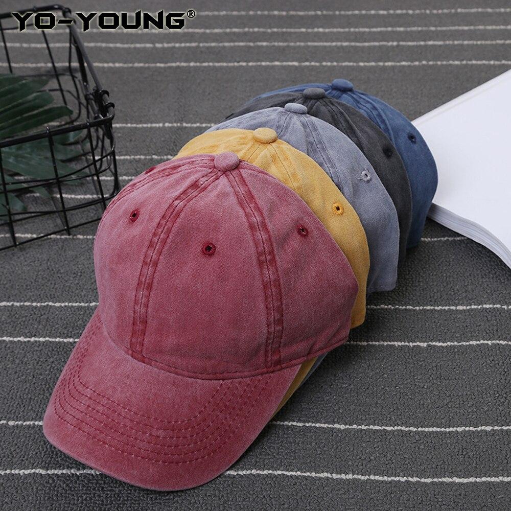 Occupy Mars Plain Adjustable Cowboy Cap Denim Hat for Women and Men