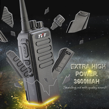 Most Powerful TYT Max 10W Walkie Talkie TC-3000A with 3600MAH Battery Voice Encryption Two Way Radio