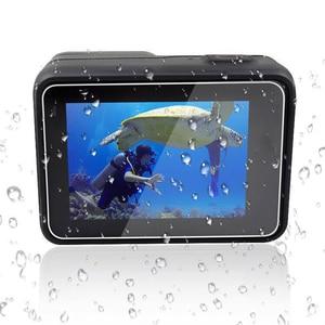 Image 3 - Película protetora para gopro hero 5 6 7, película de vidro temperado para câmera hero 5 6 7 edição preta hero 2018 2 peças lentes e filme da tela