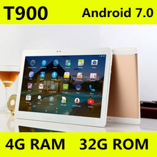 "4G LTE Android 7.0 Tablet PC Tab Pad 10.1 Inch IPS Octa Core 4GB RAM 32GB ROM Dual SIM Card LTE FDD Phone Call 10.1"" Phablet"