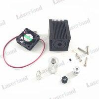 Focusable Housing Case Heatsink For 5 6mm TO18 Laser Diode LD Module Lens Fan