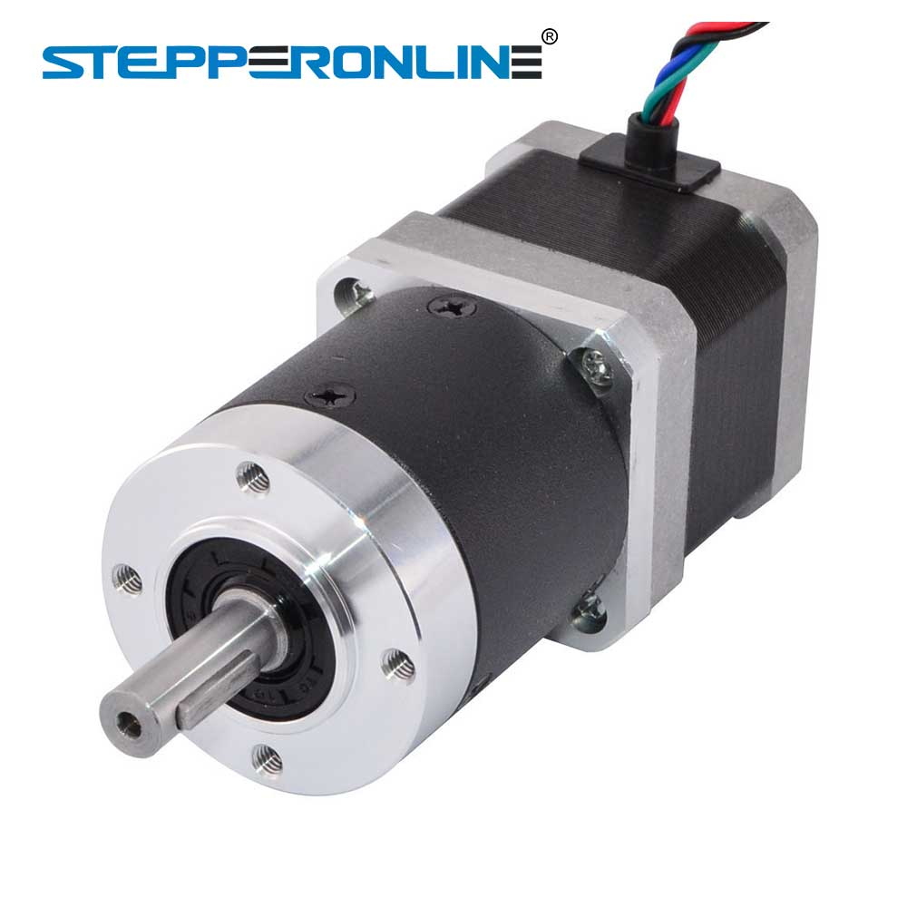 цена на Nema 17 Stepper Motor L=39mm Gear Ratio 50:1 High Precision Planetary Gearbox 4-lead Extruder Gear Motor 1.68A CNC 3D Printer