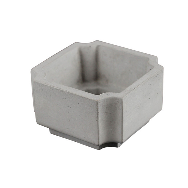 Silicone Concrete Mold Flowerpot Molds for Home Gardening Succulent Plants Handmade Cement Planter Mould in Clay Molds from Home Garden