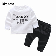 Kimocat Одежда для новорожденных мальчиков 2 шт хлопковая удобная