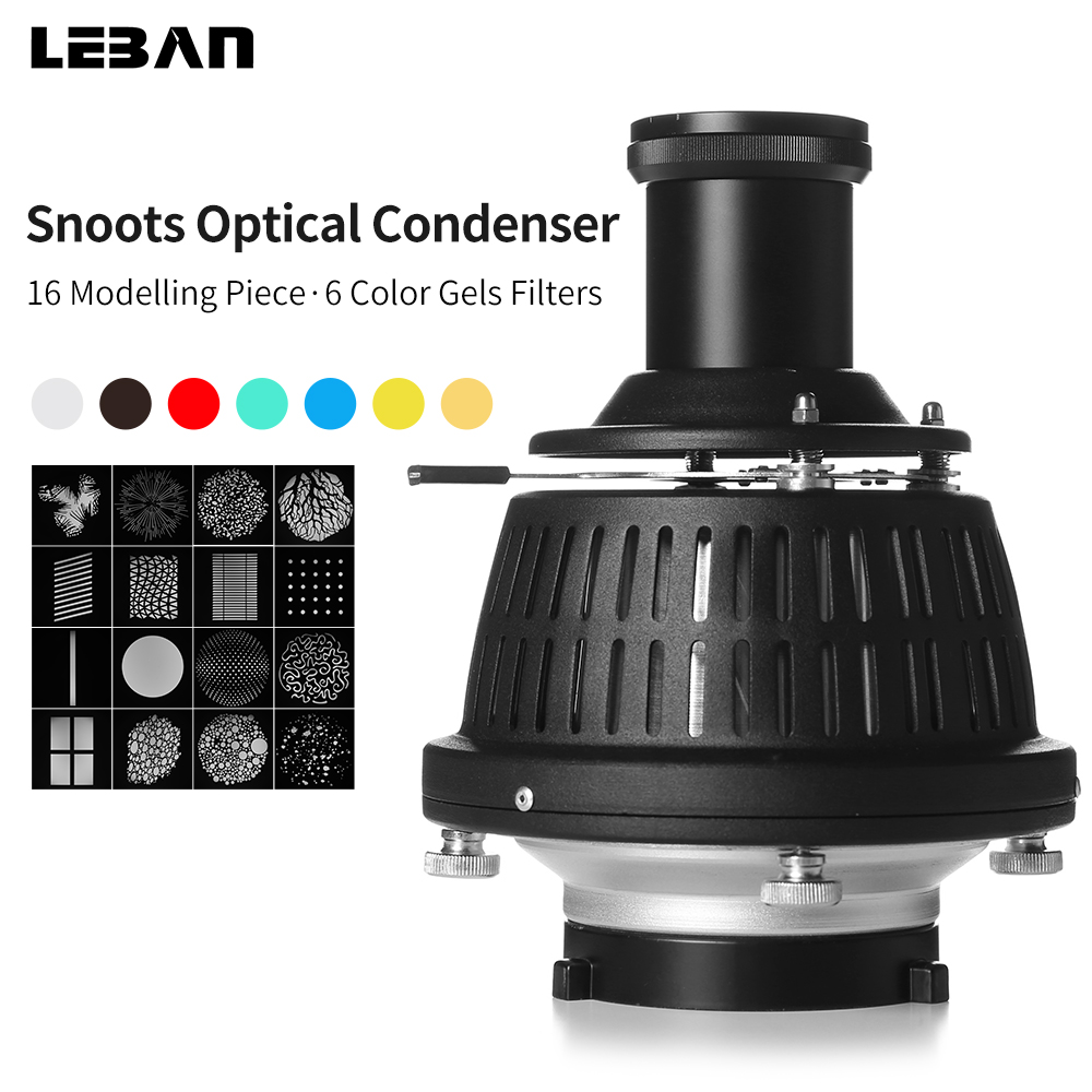 Focalize Conical Snoots Photo Optical Condenser Art Special Effects Shaped Beam Light Cylinder with Shape and