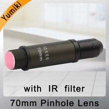 New Arrivals 2.0Megapixel 70mm pinhole Lens CCTV Lens M12 mount Image Format 1