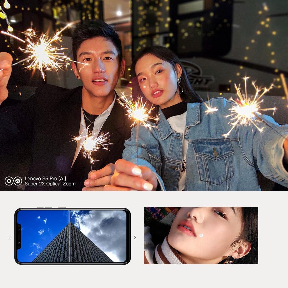Lenovo S5 Pro Smartphone 20MP quad cameras 6.2inch Octa core 4G LTE Phones (4)