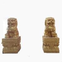 Поставка фабрики украшения сада фигура льва формы Китай Стиль бетонные формы