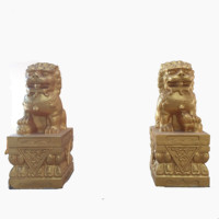 Factory Supply Garden Decoration Lion Statue Mold China Style Concrete Molds