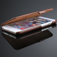 Ultra Slim Phone Case For Apple Iphone 6 6S Genuine Leather Cover Luxury Protective Magnetic Coque