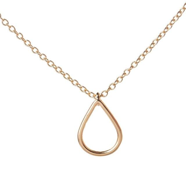 Shuangshuo new fashion geometric jewelry copper raindrop pendant shuangshuo new fashion geometric jewelry copper raindrop pendant necklace for women long chain water drop choker aloadofball Gallery