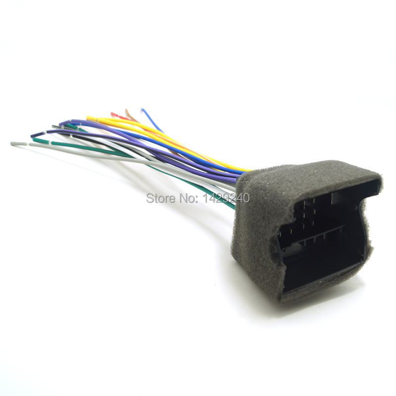 compare prices on dodge radio wiring online shopping buy low car radio audio stereo amplifier interface wire harness for audi bwm volkswagen mini