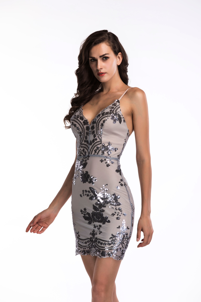 2020 Luxury Sexy Sequins PArty Dress 48