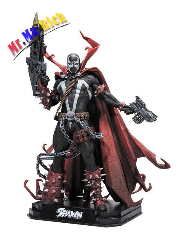 7 Inch Spawn Action Figure Classic Toys For Boys Collection With Retail Box voyager class power of the prim terrorcons hun gurrr action figure classic toys for boys without retail box