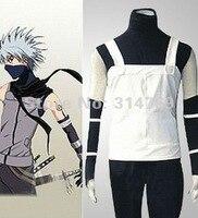 Manga Amime Naruto Costume Naruto Hatake Kakashi Men's Anbu Cosplay clothes Costume,Halloween Party Cosplay