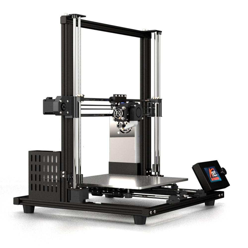 2019 New Anet A8 plus Upgrade 3D Printer Kit Plus Size 300*300*350mm High Precision Metal Desktop 3D Printer DIY Impresora 3D