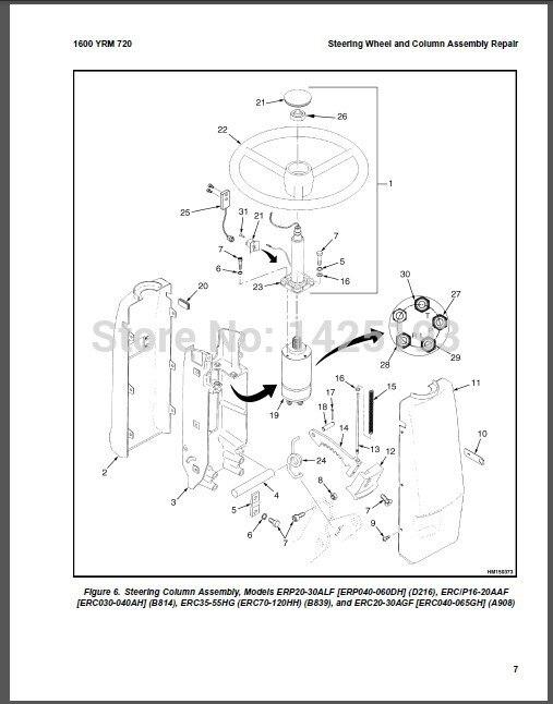 yale gc030 wiring diagram