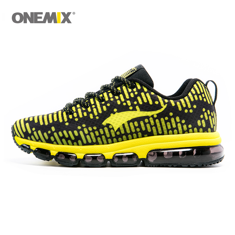 ONEMIX Running Shoes Men 2017 Mash Lightweight Air soleand Breathable Sports Shoes Outdoor Sports and Jogging Size EU39-46 1180 onemix man 1096 zapatillas deportivas hombre air cushioning outdoor running shoes for men speedcross free run n shoes 39 46