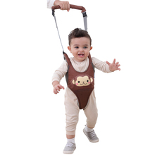 Baby Cartoon Breathable Vest Harness Toddler Anti-lost Belt child safety Learning walking Assistant Bibi Voice Belt
