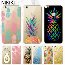 ciciber Transparent Pineapple Case Cover For Huawei P30 P20 P10 P9 P8 Plus Lite Pro 2017 For Honor 10 9 Lite Soft TPU Coque(China)