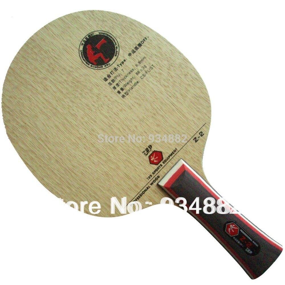 Original 729 Z-2 Table Tennis Blade Table Tennis Racket Racquet Sports Carbon Blade