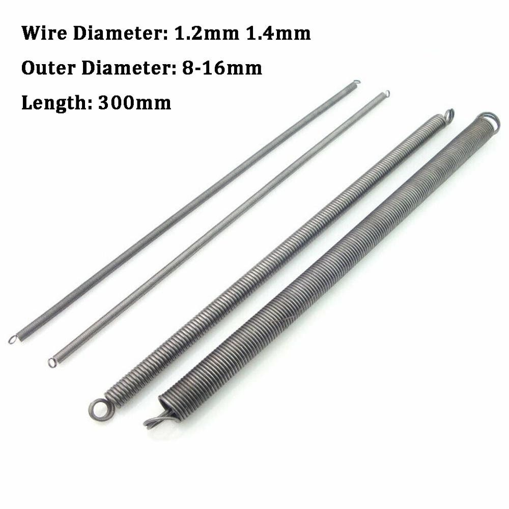 Wire Dia 3.0mm Expansion Extension Tension Spring OD 16mm 30mm 65 Mn Steel