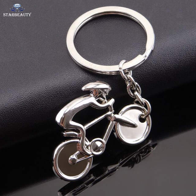 Sports Mountain Bike Zinc Alloy Car Keychains Key Ring Gift Men s Carriage  Car Keyring Sports Key ef0b86d9d9f8