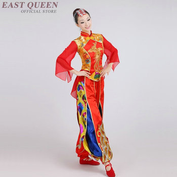 Oriental dance clothing chinese costume female traditonal female dancer costume chinese dance costume AA3215 Y