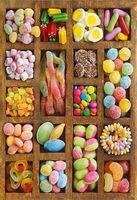 Candy shop drewniane puzzle puzzle 1000 sztuk sja biała karta dorosłych zabawki edukacyjne dla dzieci