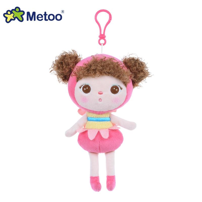 Stuffed Brinquedos Backpack Sweet Cute Pendant Baby Kids Toys for - Mainan lembut - Foto 4