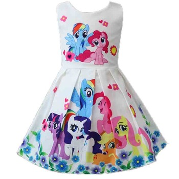 New Princess Unicorn Print Dress
