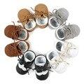 Ручной Детские Впервые Ходунки Детские Мокасины Детская Обувь Кожа PU Prewalkers Сапоги для Детей